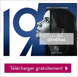 Le catalogue général 2019 est disponible